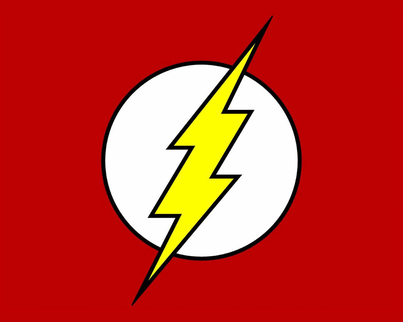 The Flash symbol.