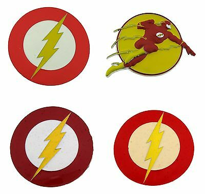 Flash Belt Buckle Dc Comics Logo American Usa Superhero Lightning Bolt Logo  New.