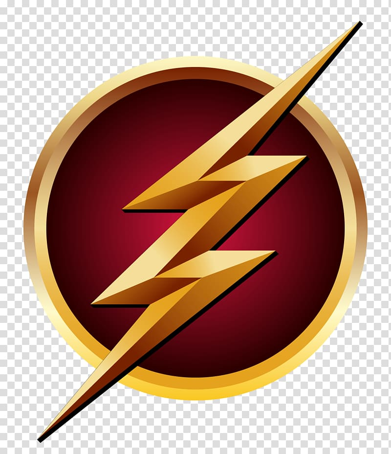 The Flash Logo Superhero Decal, Flash, DC The Flash logo.