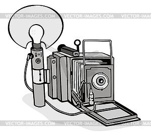 Camera Flash Bulb.