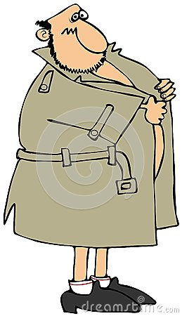 Flasher Raincoat Stock Photos, Images, & Pictures.