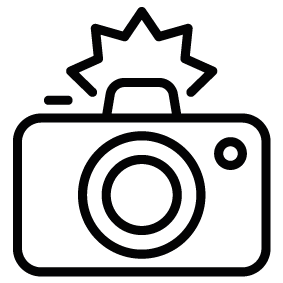 Camera flash clip art clipart images gallery for free download.