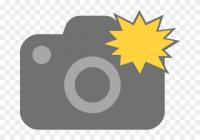 Camera Flash Clipart.