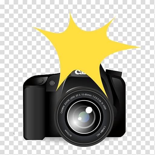 Digital Cameras Camera lens Emoji , background flashing transparent.