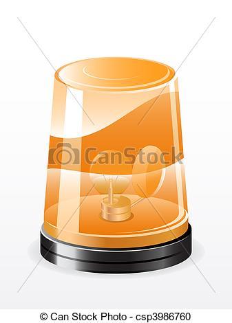 Vector Clipart of Vector flashing light.