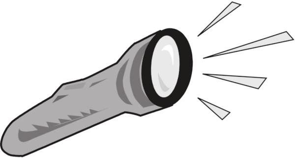 Free Flashlight Clipart, 1 page of Public Domain Clip Art.