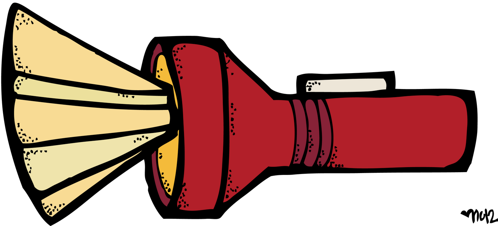 Free flashlight clipart images.
