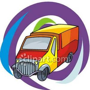 Flashy_Delivery_Truck_Royalty_Free_Clipart_Picture_081024.