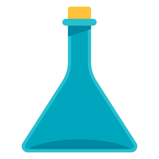 Medical flask icon.