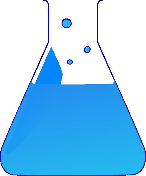 Chemistry Lab Flasks Clip art.
