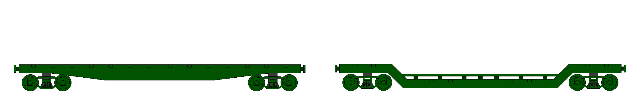 Flatbed Train Cars 4 by KoKoaLover1 on DeviantArt.