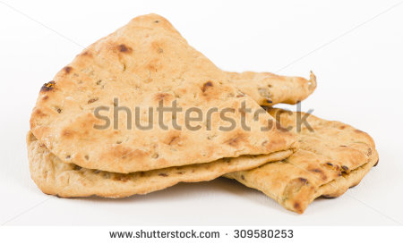 Flatbread Stock Images, Royalty.
