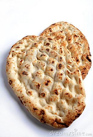 Turkish Flat Bread Royalty Free Stock Image.
