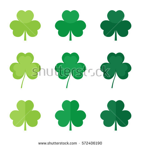 Shamrock Stock Photos, Royalty.