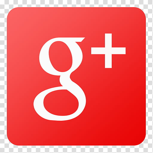 Flat Gradient Social Media Icons, Google Plus, Google+ logo.
