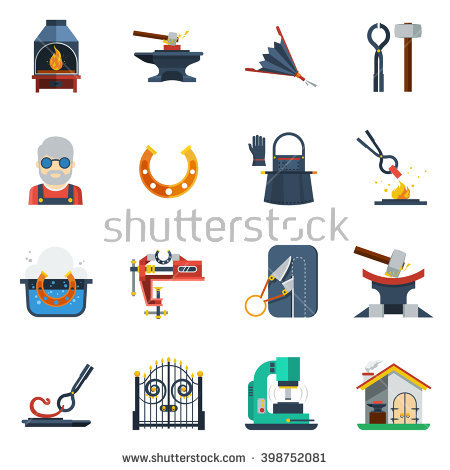 Flat Sledgehammer Stock Photos, Royalty.