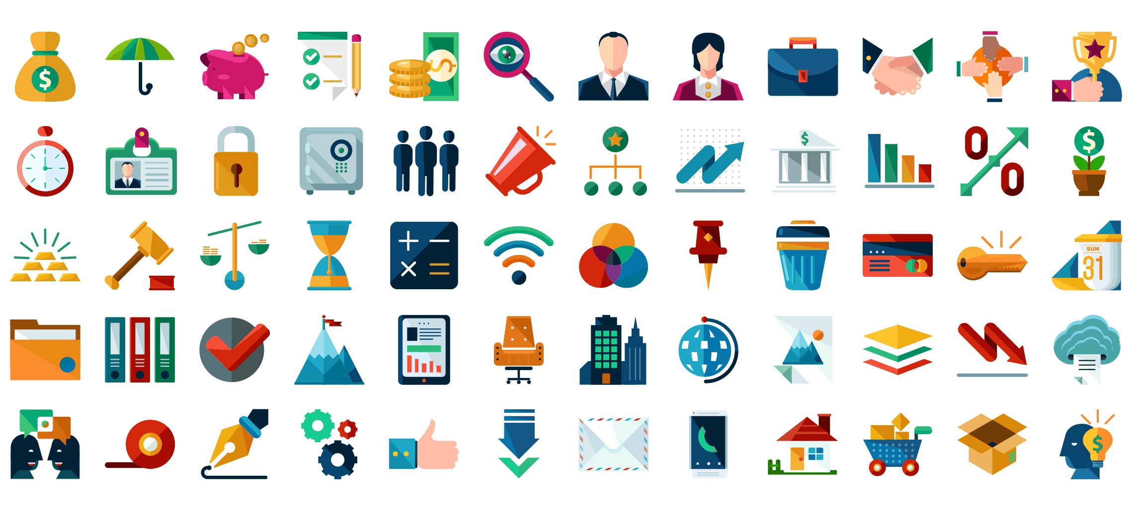 Flat Icons Pack.