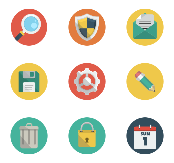 Creativity 15 free icons (SVG, EPS, PSD, PNG files).