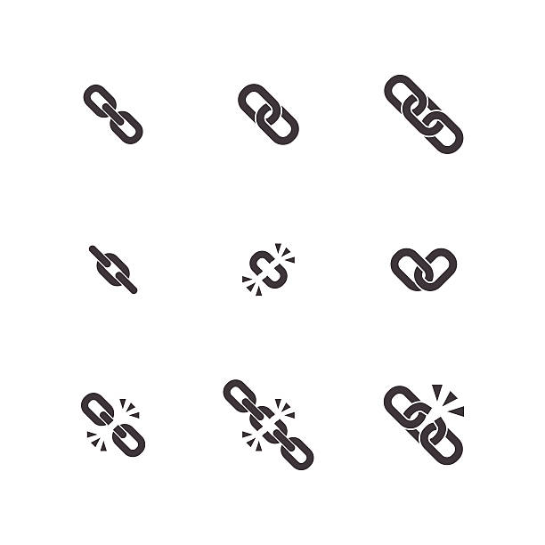 Link Chain Clip Art, Vector Images & Illustrations.