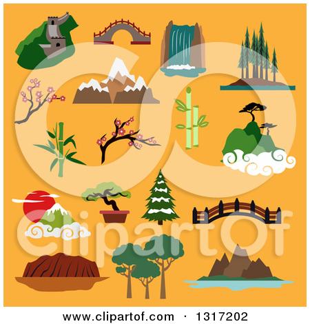 Clipart Mountain Logo 1.