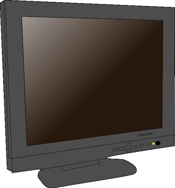 Monitor Lcd Clip Art at Clker.com.