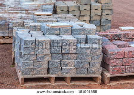 Stone Landscaping Stock Images, Royalty.