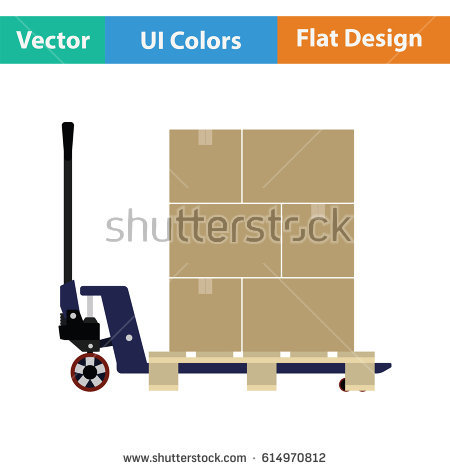 Pallets Stock Images, Royalty.