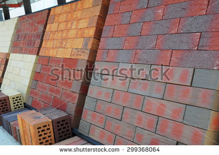 Pile Of Bricks Stock Images, Royalty.