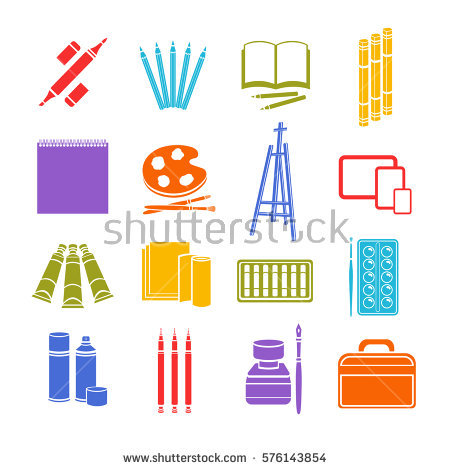 Material Icon Stock Images, Royalty.