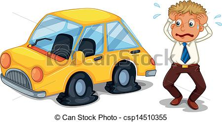Flat tire Clipart Vector and Illustration. 3,995 Flat tire clip.
