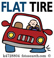 Flat tire Clip Art Royalty Free. 3,403 flat tire clipart vector.