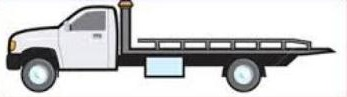 Free Flatbed Truck Clipart.