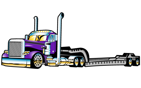 Flatbed Clipart.