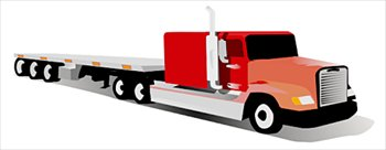 Free flatbed Clipart.