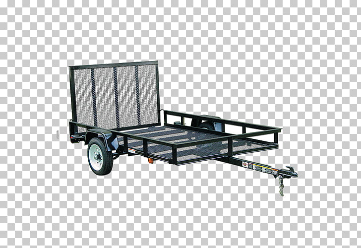 Utility Trailer Manufacturing Company Lowe\'s Flatbed truck.