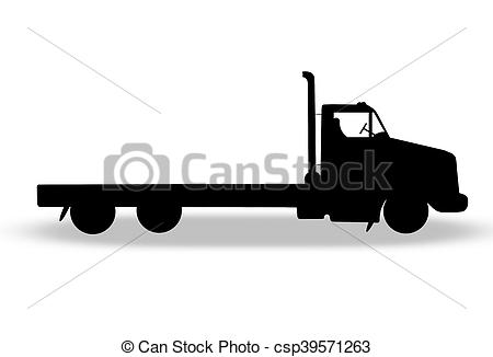 The Best Flatbed Truck Clipart Review.