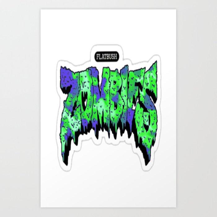 Flatbush Zombies Logo Art Print by trancesoul.