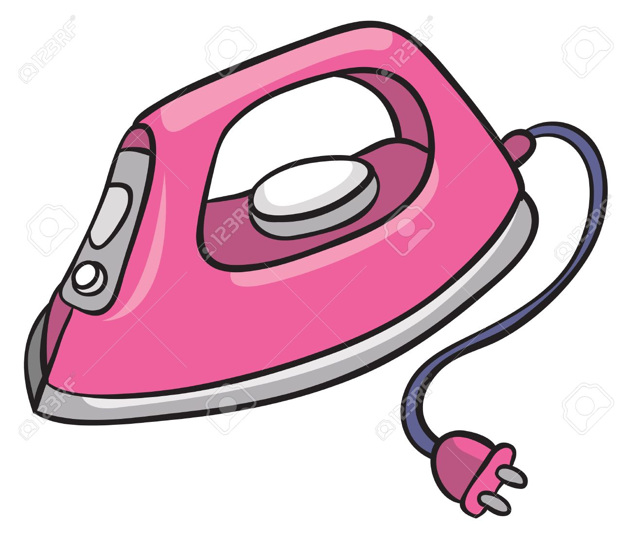 I Is For Iron ~ Flatiron clipart clipground