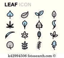 Flat leaf Clipart and Illustration. 29,667 flat leaf clip art.