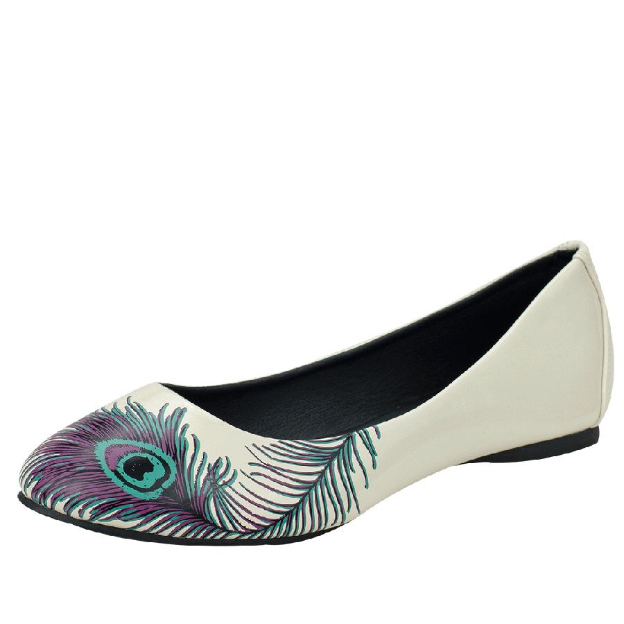 Flats Shoes PNG HD.