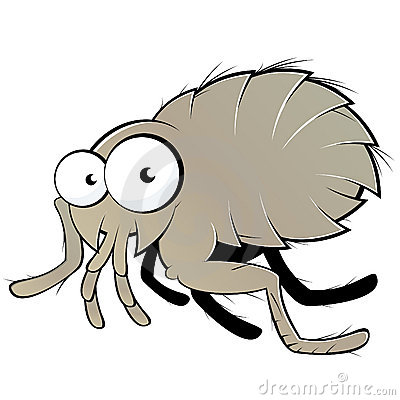 clipart of fleas #3
