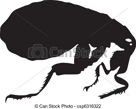 clipart of fleas #16