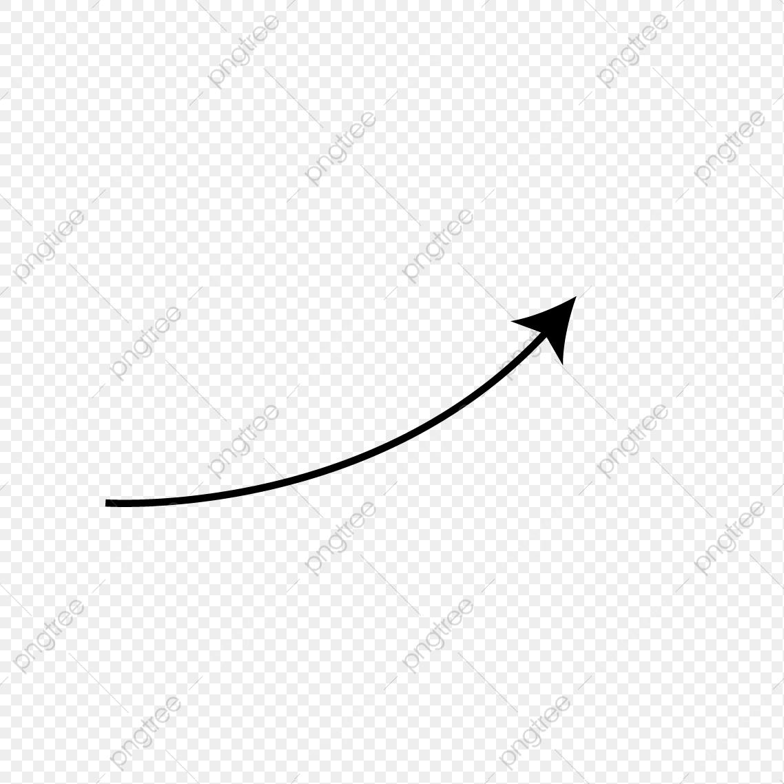 El Aumento De Flechas, Lugar, Curva, Flecha Imagen PNG para Descarga.
