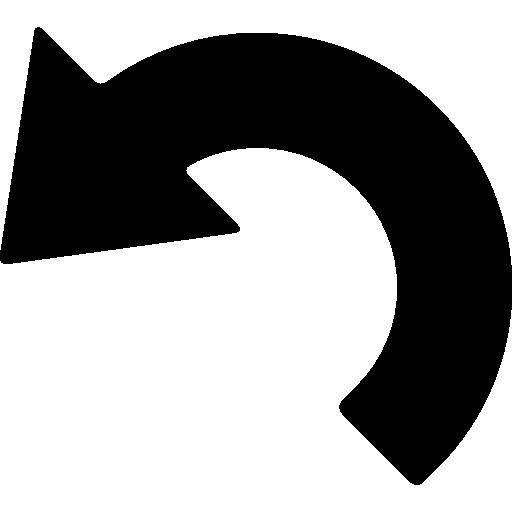 Flecha Curvada Png Vector, Clipart, PSD.
