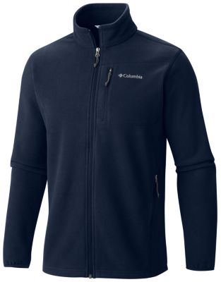 Men's Cascades Explorer Full Zip Fleece Zippered Pockets.