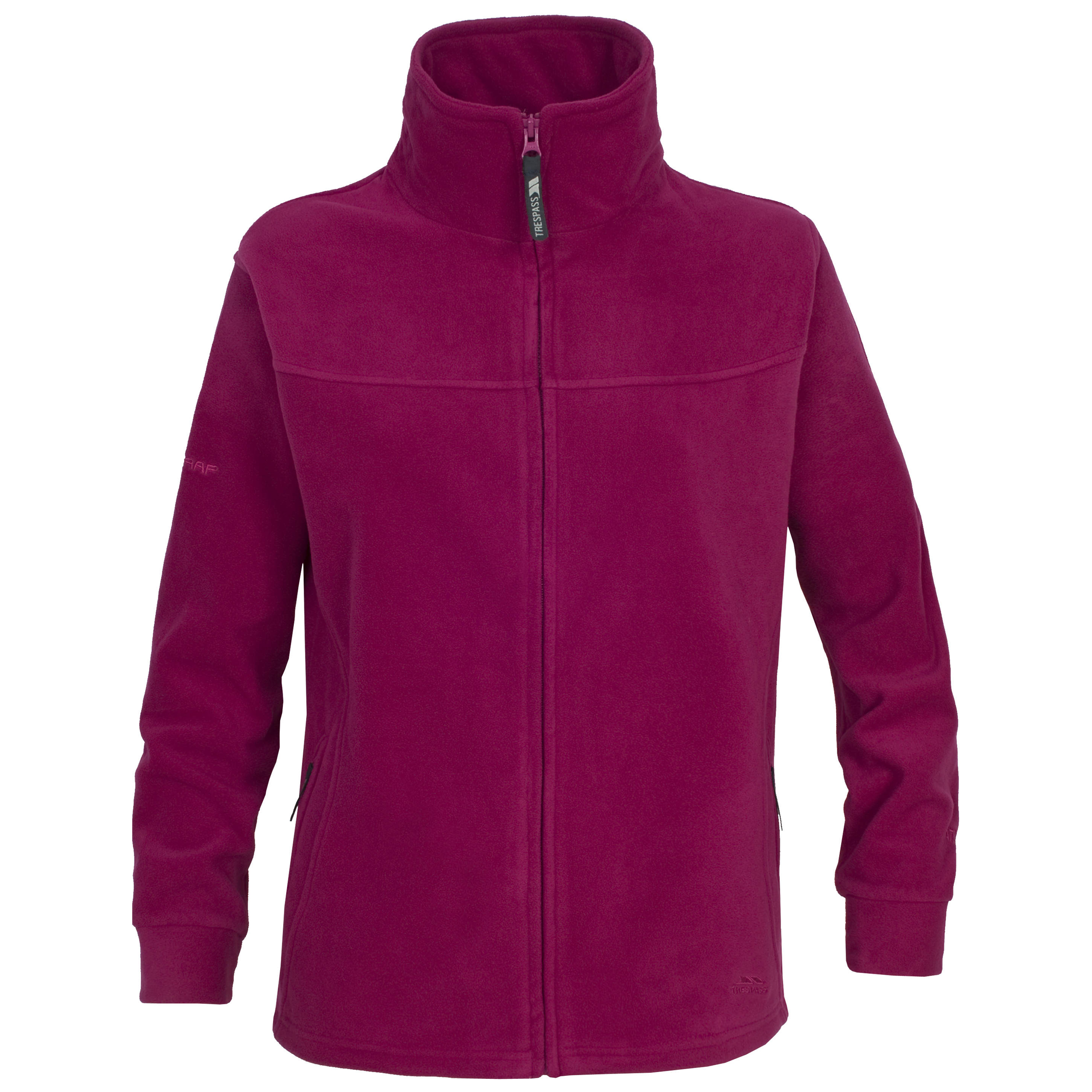 Trespass Sueded Airtrap Yolandi Womens Full Zip Fleece Jacket.
