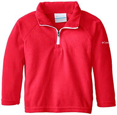 Amazon.com: Columbia Girls' Half Zip Glacial Fleece: Clothing.