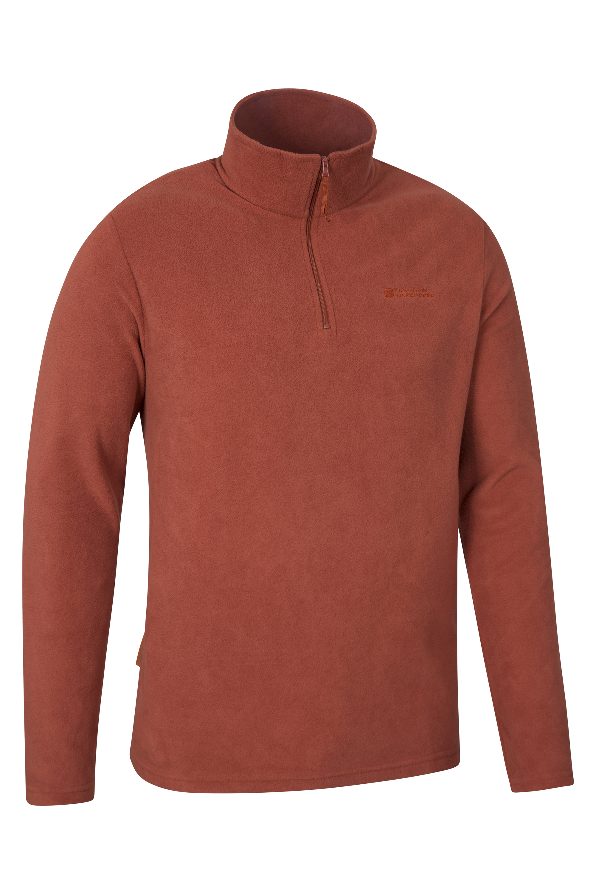 Mens Half Zip Fleece.