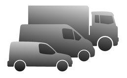 Fleet Cars Stock Illustrations.