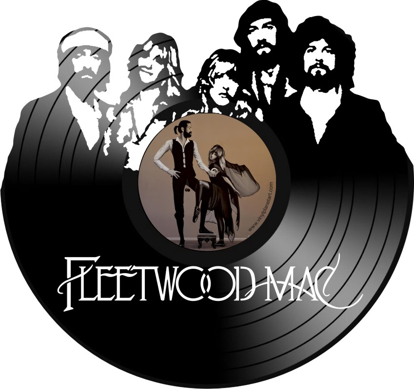 Vinyl Wall Art FLEETWOOD MAC.